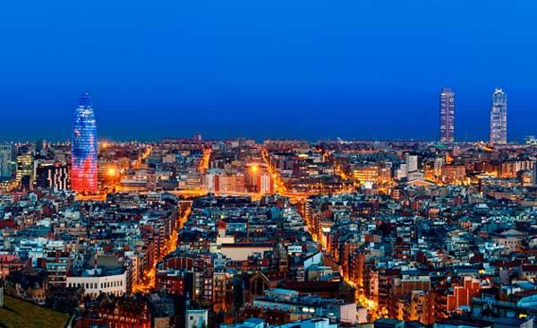 Barcelona, panorámica