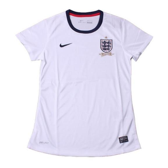 Jual Jersey Wanita Inggris Piala Dunia 2014