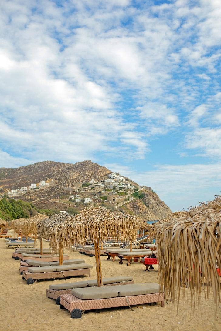 Elia - Best Beaches in Mykonos Greece.
