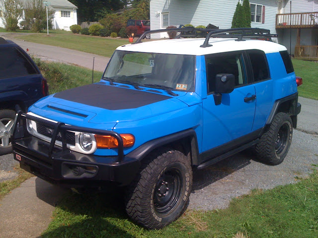 Plasti Dip Before And After Page 23 Toyota Fj Cruiser