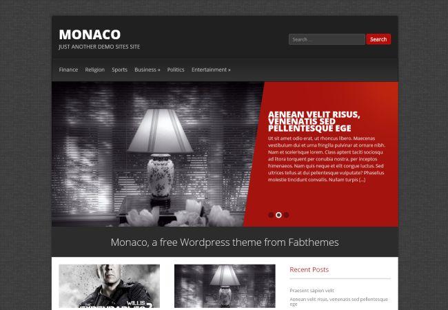 Luxury Portfolio WordPress Theme