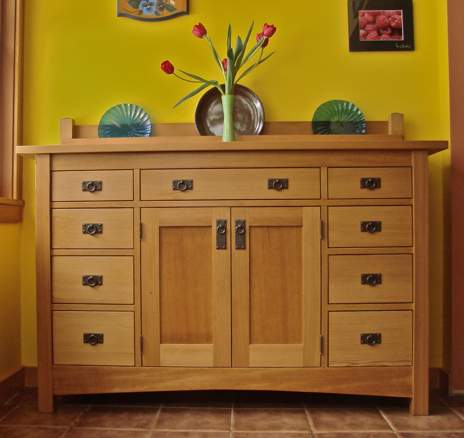 greywolf woodworking craftsman buffet