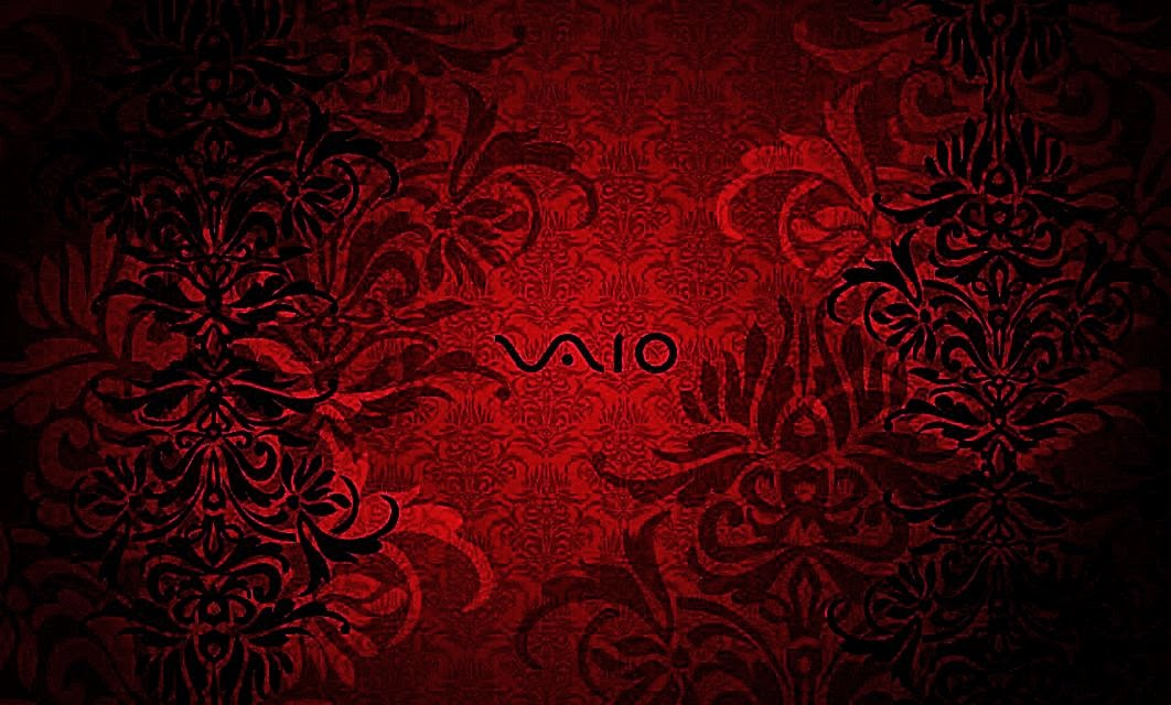 vaio red wallpaper by - photo #5
