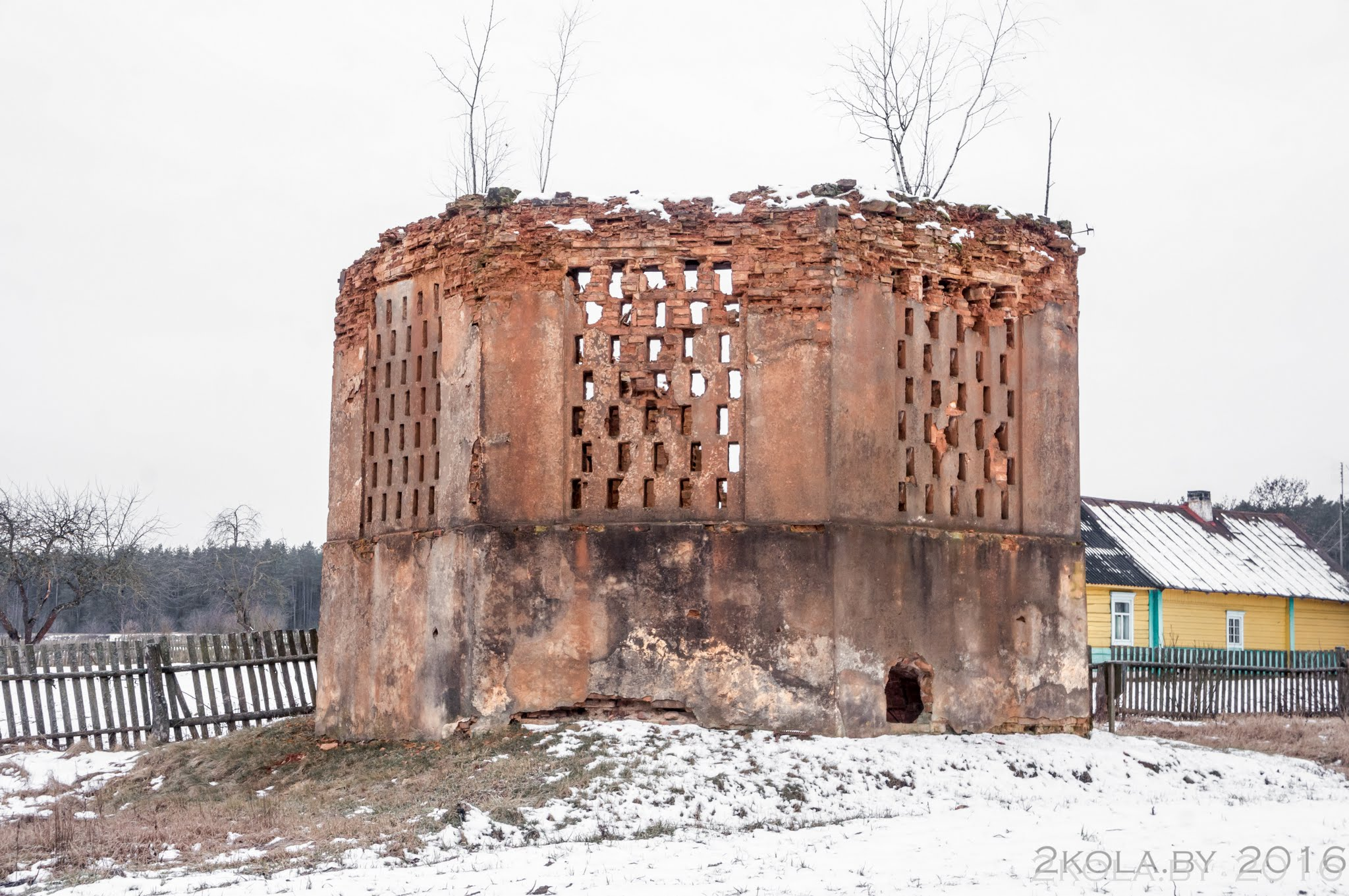 DSC08846 - Зимняя покатушка по достопримечательностям Ганцевичского и Клецкого районов.