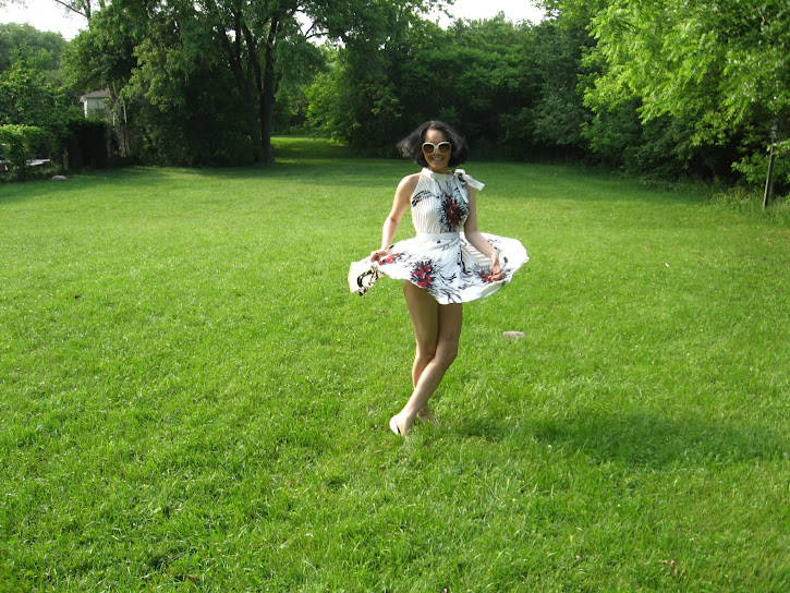 cammi pham spinning green grass