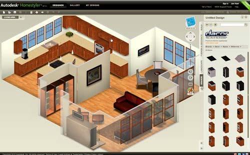 Autodesk homestyler aplicaci n online para dise ar casas for Creador de planos sencillos para viviendas y locales