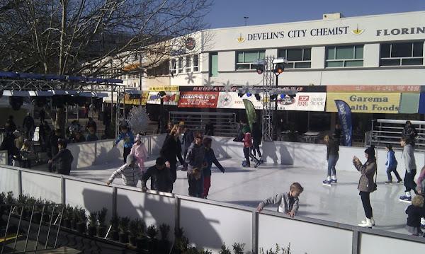 skate in the city