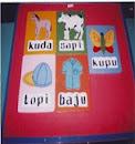 Alat peraga edukasi TK/SD puzzle papan
