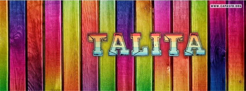 Capas para Facebook Talita