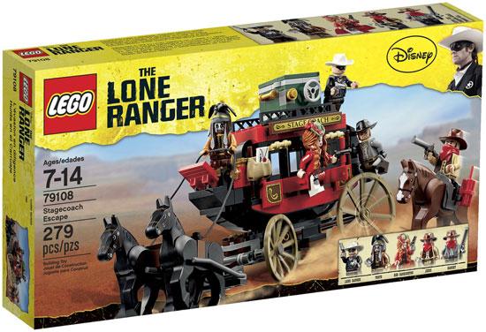Đồ chơi LEGO 79108 The Lone Ranger – Stagecoach Escape (Chuyến xe tốc hành)