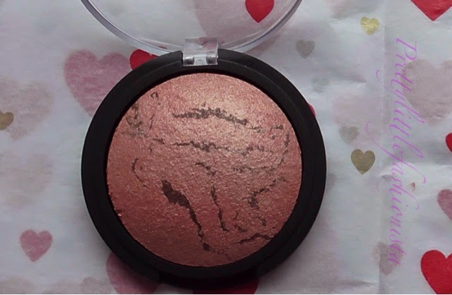 ELF Baked Blush in Peachy Cheeky