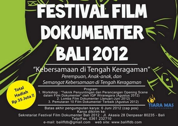 Festival Film Dokumenter Bali 2012