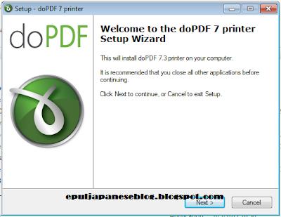 Cara Merubah JPEG ke PDF