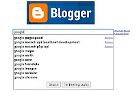 Get in Blogger Related Content Search