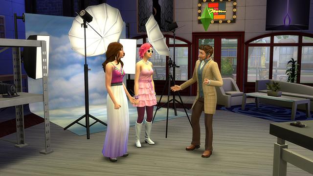 De Sims 4 Aan het Werk bakkerij