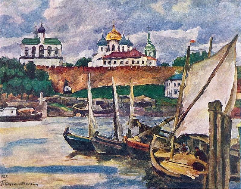 Pyotr Konchalovsky - Novgorod. Citadel