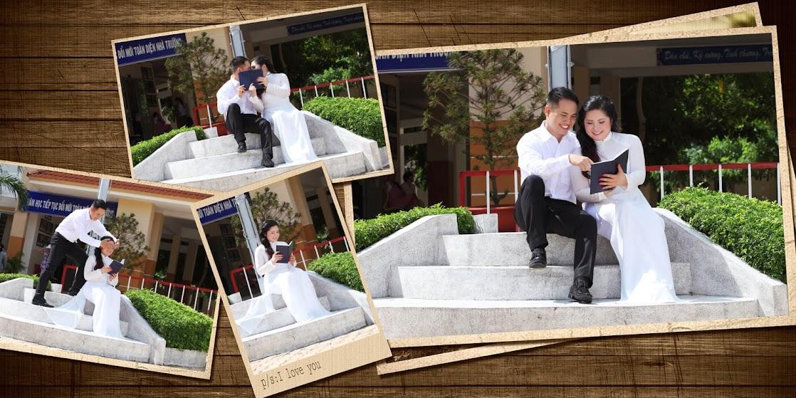 Cảm ơn tình yêu anh - Chụp hình cưới theo cốt truyện