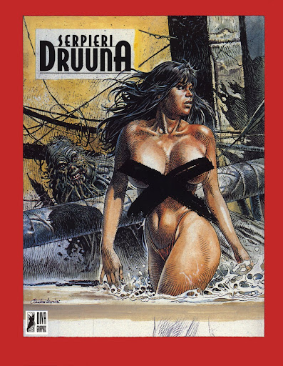 ultima coleccion de serpieri, 21 artbooks
