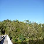Walking over Fullers Bridge (383420)
