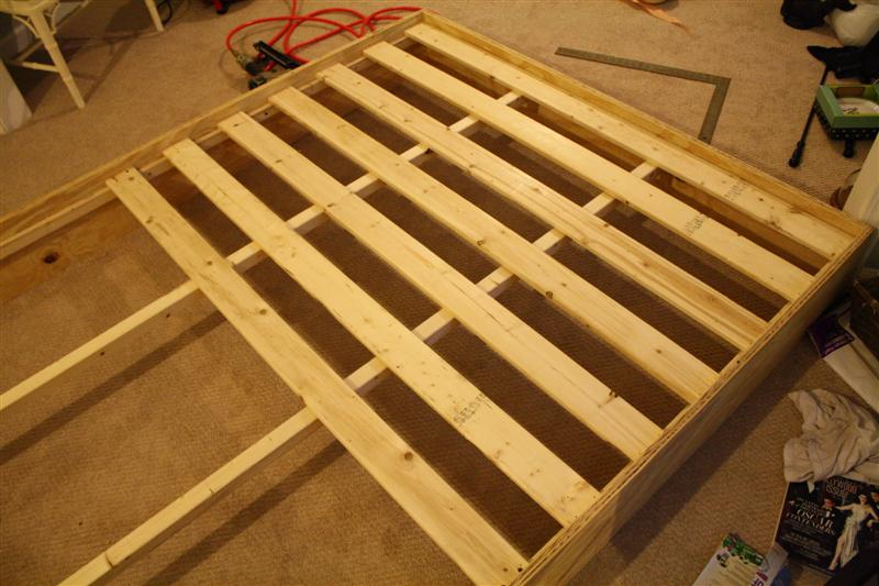 Metal Bed Frame With Built In Boxspring