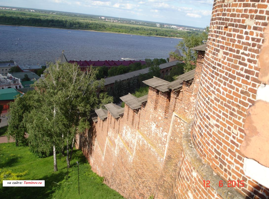 Башни кремля Нижнего Новгорода