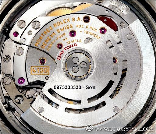 Rolex daytona automatic caliber movement 4130