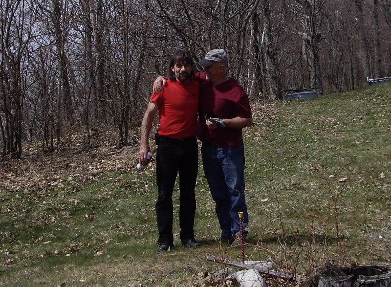 Bob R and Keith B at Rutland