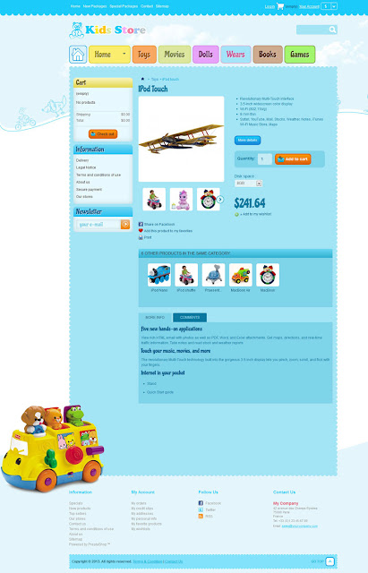 Baby Shop (Kid Stores 1.0) - Product Detail