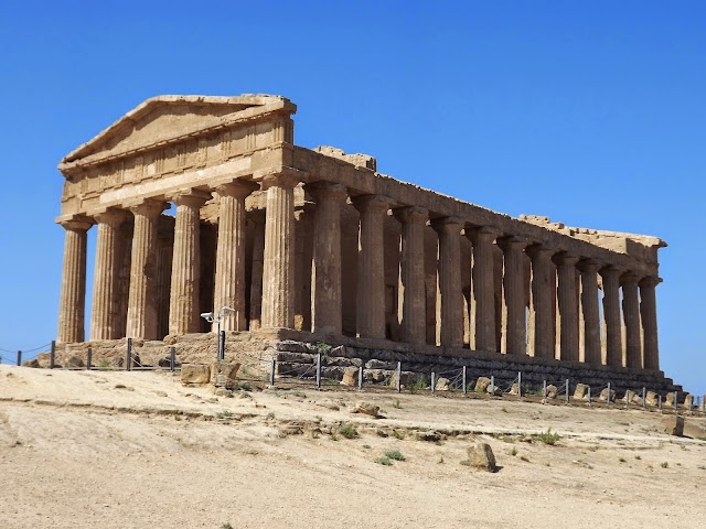 Temple of Olimpic Jupiter - Temples Valley