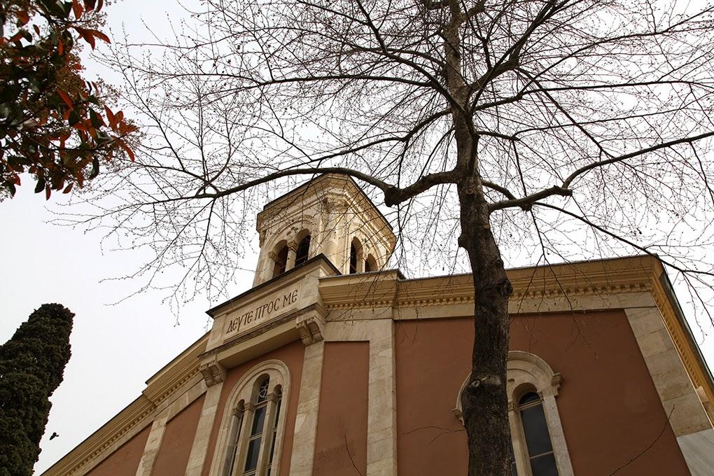 Ayios Taxiarchae Greek Orthodox Church in Arnavutkoy