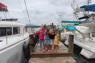 Storm, Lucie, Norah, Athénaïs et Lou, une belle brochette!!!