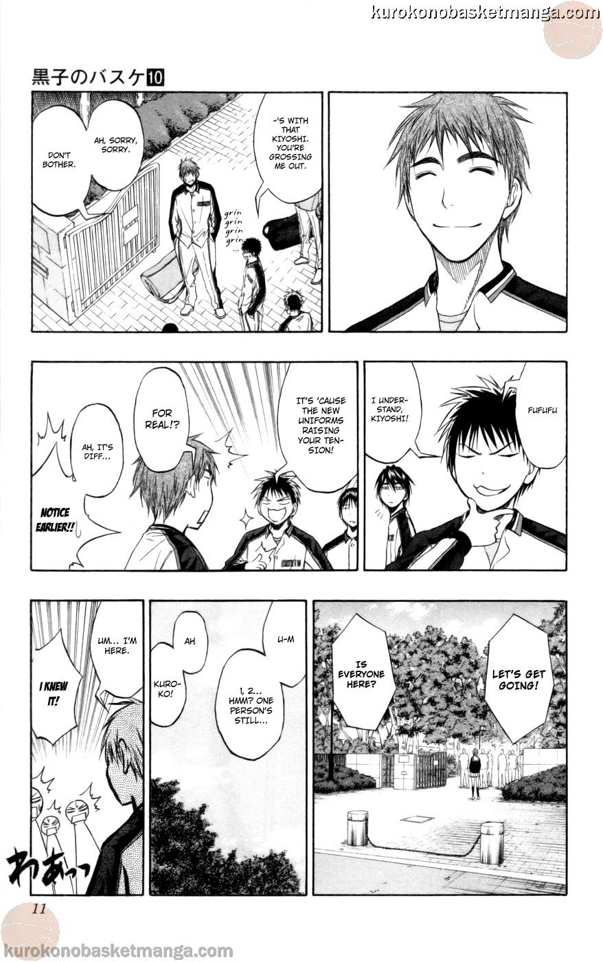 Kuroko no Basket Manga Chapter 81 - Image 09