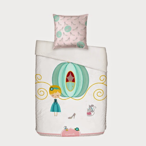 Mr Fox Pumpkin Bedding - Cinderella