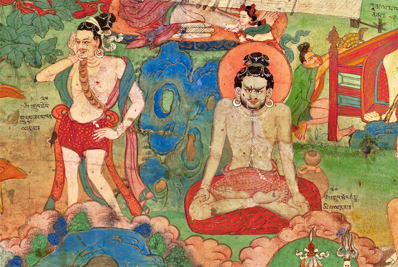 The Lukhang Murals of Tibet at the Rubin Museum of Art