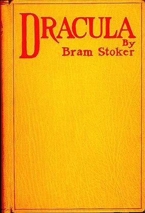Portada de la 1ª edición de Dracula