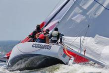 J/80 sailing Annapolis NOOD regatta