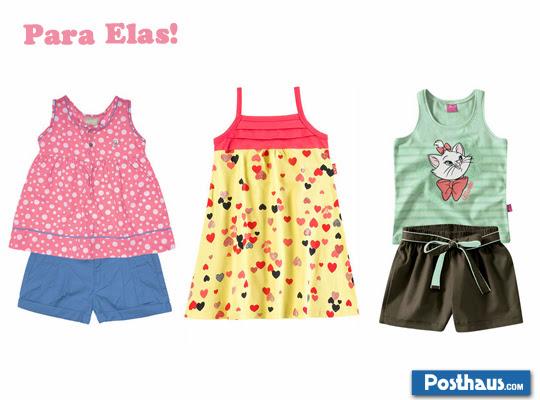 roupa de verão para crianças