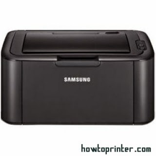 How to reset Samsung ml 1667 printer toner cartridge ~ red light turned on & off repeatedly