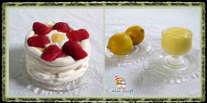 Sobremesa de morangos com creme de limão siciliano 1