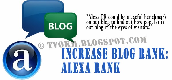 How important is Alexa rank on our blog?