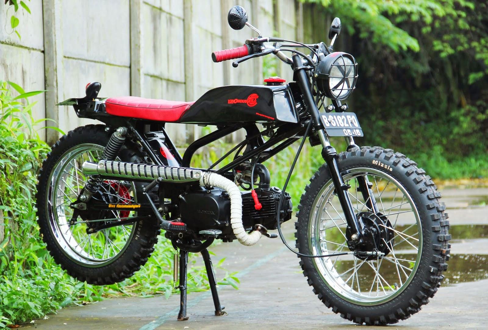 Modifikasi Honda Tiger Jadi Trail