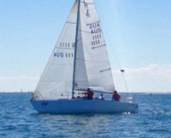 J/24 sailing South Australia States off Adelaide