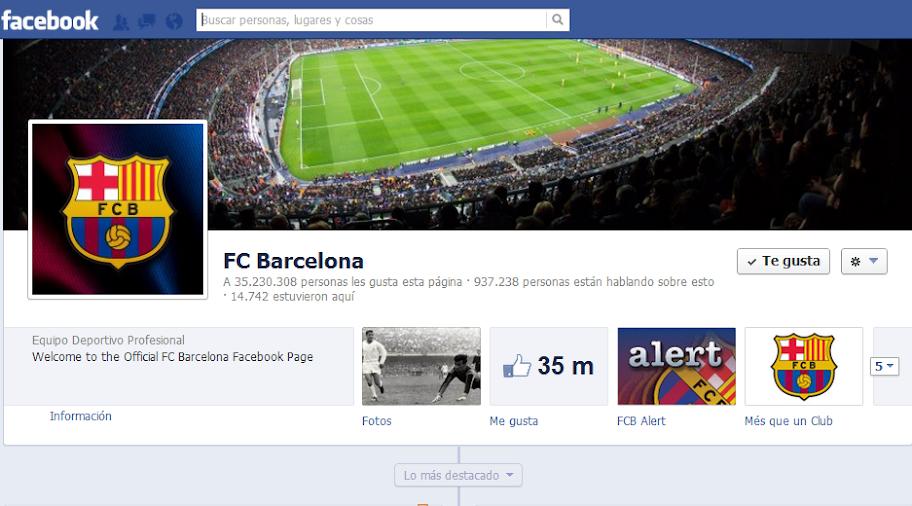 Barcelona es el club de fútbol con más seguidores en Redes Sociales