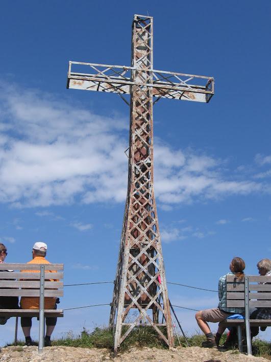 Das Gipfelkreuz auf dem Hochgrat