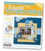 Publicações Internacionais: Esprit Scrapbooking