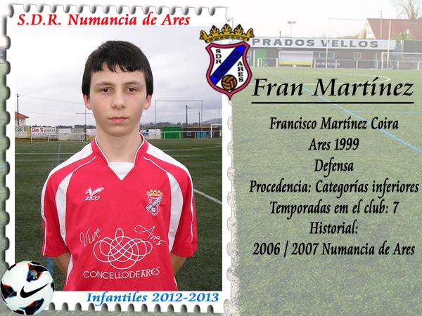 ADR Numancia de Ares. Fran Martínez.