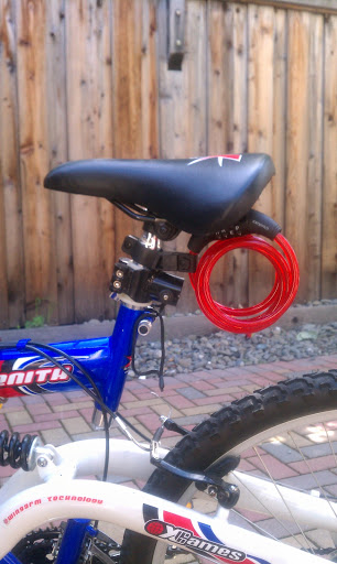 Bonggamom Finds Wordlock Bike Lock Review And Giveaway