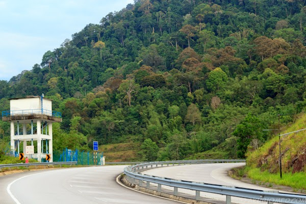 jalan ke bukit frasier hill
