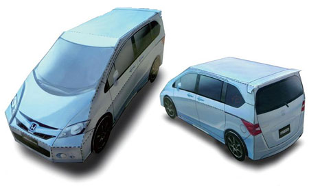 Honda Freed Papercraft