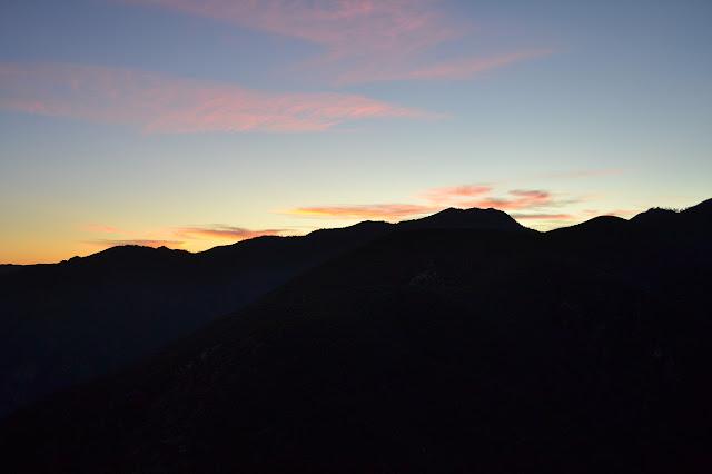 sun set already